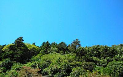 快晴の石老山